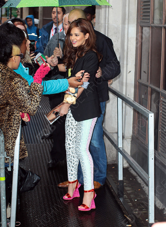 25.APRIL.2012. LONDON<br /> <br /> CHERYL COLE ARRIVES AT BBC RADIO ONE STUDIOS, LONDON<br /> <br /> BYLINE: EDBIMAGEARCHIVE.COM<br /> <br /> *THIS IMAGE IS STRICTLY FOR UK NEWSPAPERS AND MAGAZINES ONLY*<br /> *FOR WORLD WIDE SALES AND WEB USE PLEASE CONTACT EDBIMAGEARCHIVE - 0208 954 5968*