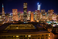 Downtown San Francisco Skyline @ Night