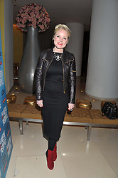 KERRY ELLIS at an after show party following the opening night of All New People held at the St.Martin's Lane Hotel, London on 28th February 2012.