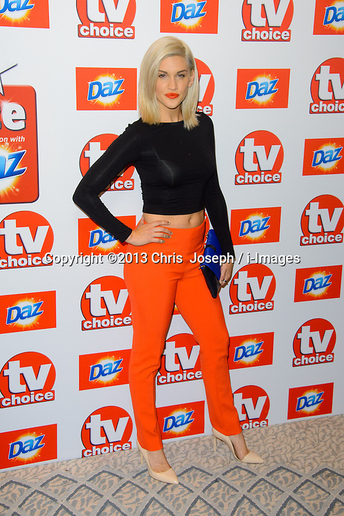 TV Choice Awards 2013 - London.<br /> Ashley Roberts arriving at the TV Choice Awards 2013, The Dorchester Hotel, London, United Kingdom. Monday, 9th September 2013. Picture by Chris  Joseph / i-Images