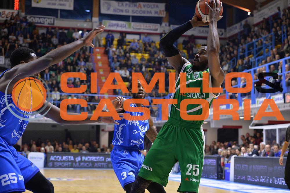 Rich Jason<br /> Happycasa Basket Brindisi - Sidigas Avellino<br /> Legabasket serieA 2017-2018<br /> Brindisi , 15/11/2017<br /> Foto Ciamillo-Castoria/ M.Longo