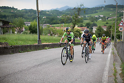 Rossella Ratto (ITA) of Cylance Pro Cycling rides up on the day's main climb during the Giro Rosa 2016 - Stage 1. A 104 km road race from Gaiarine to San Fior, Italy on July 2nd 2016.