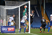(12) Connor Ripley for Bury FC makes a save during the EFL Sky Bet League 1 match between Bury and Wigan Athletic at the JD Stadium, Bury, England on 24 March 2018. Picture by Graham Holt.