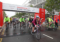 {The Prudential RideLondon-Surrey100. Chemmy Alcott leads of the pack}<br /> Prudential RideLondon, the world's greatest festival of cycling, involving 70,000+ cyclists – from Olympic champions to a free family fun ride - riding in five events over closed roads in London and Surrey over the weekend of 9th and 10th August. <br /> <br /> Photo: Roger Allen for Prudential RideLondon<br /> <br /> See www.PrudentialRideLondon.co.uk for more.<br /> <br /> For further information: Penny Dain 07799 170433<br /> pennyd@ridelondon.co.uk
