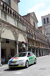 GOOGLE CAR IN PIAZZA TRENTO TRIESTE