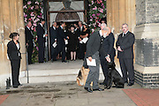 Prince Michael of Kent and  Mark Birley's  dogs, black labrador George and Alsatian Tara Mark Birley funeral. St Paul's , Knightsbridge. London. 19 September 2007. -DO NOT ARCHIVE-© Copyright Photograph by Dafydd Jones. 248 Clapham Rd. London SW9 0PZ. Tel 0207 820 0771. www.dafjones.com.