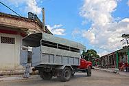 Truck in Arcos de Canasi, Mayabeque, Cuba.