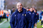 Notts County Assistant Manager Neil Cox during the EFL Sky Bet League 2 match between Mansfield Town and Notts County at the One Call Stadium, Mansfield, England on 8 December 2018.