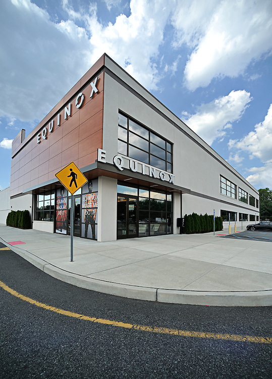 exterior view of new Equinox gym | genegoussphotography com