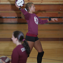 10 September 2009:  The St. Thomas Falcons girls volleyball in Hammond, Louisiana.