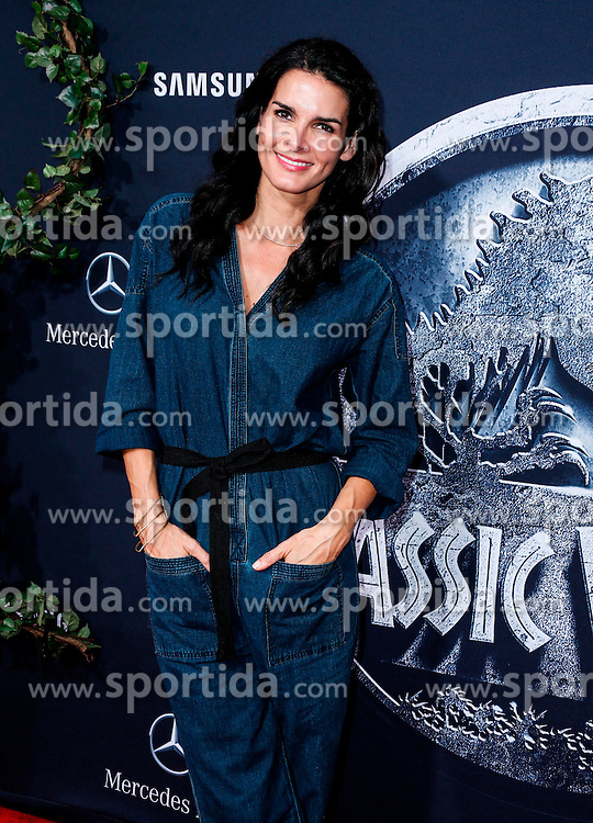 Angie Harmon, Jurassic World - World Premiere, at the Dolby Theatre, June 9, 2015 - Hollywood, California, CelebrityPhoto. com. EXPA Pictures &copy; 2015, PhotoCredit: EXPA/ Photoshot/ Celebrity Photo<br /> <br /> *****ATTENTION - for AUT, SLO, CRO, SRB, BIH, MAZ only*****
