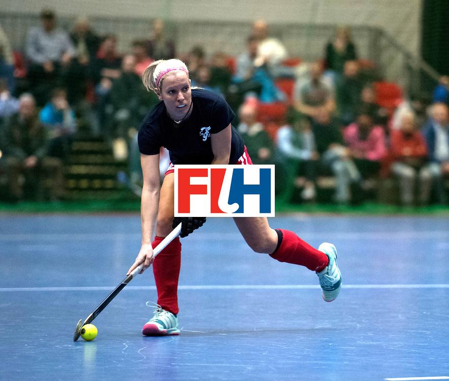 BERLIN - Indoor Hockey World Cup<br /> Women: Ukraine - Czech Republic<br /> foto: MEJZLIKOVA Tereza.<br /> WORLDSPORTPICS COPYRIGHT FRANK UIJLENBROEK