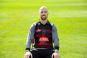 Royal London One-Day Cup kit portrait of Jack Leach during the Somerset County Cricket Club PhotoCall 2017 at the Cooper Associates County Ground, Taunton, United Kingdom on 5 April 2017. Photo by Graham Hunt.
