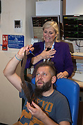Adam Prus opts to shave off his dreadlocks to raise money for his chosen charity; the Trevor Mann Baby Unit at BSUH