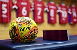 Bristol City set up in the away dressing room at Villa Park  - Mandatory by-line: Joe Meredith/JMP - 01/01/2018 - FOOTBALL - Villa Park - Birmingham, England - Aston Villa v Bristol City - Sky Bet Championship