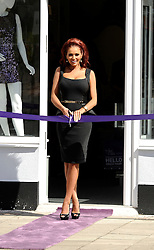 """Former TOWIE at the The Launch Of Her New Boutique Opening Of """"Amy Childs Boutique.""""Brentwood,Essex.London, Wednesday September 5, 2012"""