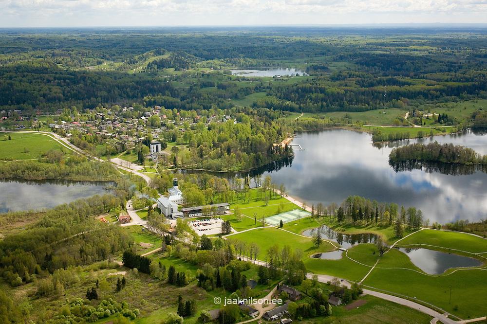 Lake Pühajärv, Valga County, Estonia, Europe