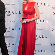 NLD/Amsterdam/20121028 - Inloop premiere nieuwe James Bond film Skyfall , Daphne Deckers