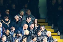 Arsenal manager Arsene Wenger watching the stands - Mandatory by-line: Jason Brown/JMP - 04/01/2017 - FOOTBALL - Stamford Bridge - London, England - Chelsea v Arsenal - Premier League