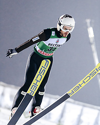 February 8, 2019 - Lahti, Finland - Vladimir Zografski competes during FIS Ski Jumping World Cup Large Hill Individual Qualification at Lahti Ski Games in Lahti, Finland on 8 February 2019. (Credit Image: © Antti Yrjonen/NurPhoto via ZUMA Press)