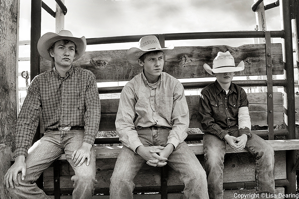 Boys at Rodeo, Montana
