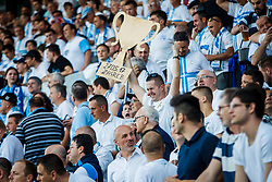 Fans of HNK Rijeka during football match between HNK Rijeka and HNK Cibala in Round #35 of 1st HNL League 2016/17, on May 21st, 2017 in Rujevica stadium, Rijeka, Croatia. Photo by Grega Valancic / Sportida