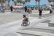 Image from Venice Beach, Los Angeles, California, on a beautiful summer day.