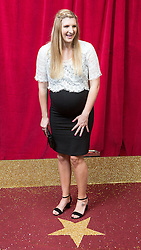 © Licensed to London News Pictures . FILE PICTURE DATED 16/05/2015 of swimmer Rebecca Adlington , whilst pregnant with daughter Summer , at The Palace Hotel , Manchester , UK . Adlington and her husband Harry Needs are to separate after 18 months of marriage . Photo credit : Joel Goodman/LNP