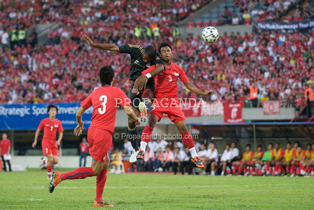 SINGAPORE, SINGAPORE - Sunday, July 26, 2009: Liverpool's Ryan Babel in action against Singapore during a preseason friendly at the Singapore National Stadium. (Pic by David Rawcliffe/Propaganda)