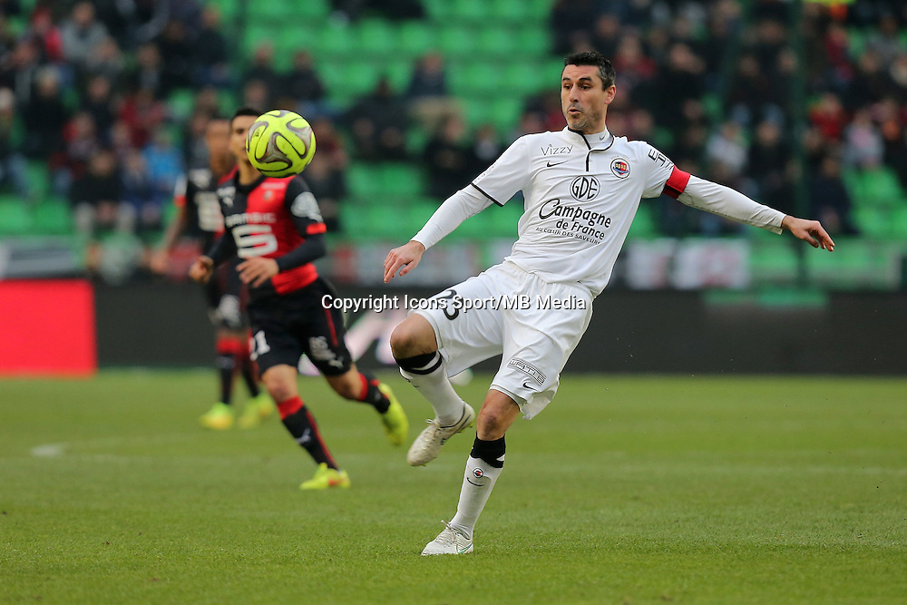 Julien FERET  - 25.01.2015 - Rennes / Caen  - 22eme journee de Ligue1<br />