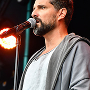 Jesus Christ Superstar with Ricardo Afonso perfroms at West End Live 2019 in Trafalgar Square, on 22 June 2019, London, UK.