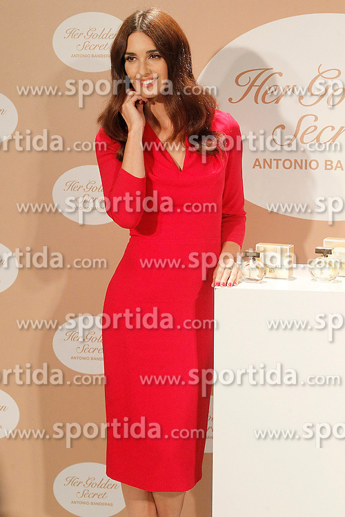 10.09.2013, Instituto Cervantes, Madrid, ESP, Parfumpraesentation, Her golden secret, im Bild Spanish actress Paz Vega // during the presentation of the perfume 'Her golden Secret' at the Instituto Cervantes in Madrid, Spain, 2013/09/10. EXPA Pictures © 2013, PhotoCredit: EXPA/ Alterphotos/ Acero<br /> <br /> ***** ATTENTION - OUT OF ESP and SUI *****