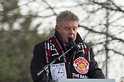 Mayor of Munich, Dieter Reiter during the ceremony at Manchesterplatz, Munich, Germany. Picture by Phil Duncan.