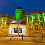 Liquid nightclub in Halifax at night.