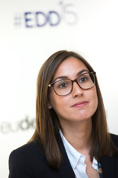 03 June 2015 - Belgium - Brussels - European Development Days - EDD - Jobs - Managing business impacts on sustainable development  - Sonja Siewerth<br /> Associate Analyst &copy; European Union