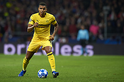November 6, 2018 - Madrid, Spain - Manuel Akanji of Borussia Dortmund during the Group A match of the UEFA Champions League between Atletico de Madrid and Borussia Dortmund at Wanda Metropolitano Stadium, Madrid on November 06 of 2018. (Credit Image: © Jose Breton/NurPhoto via ZUMA Press)