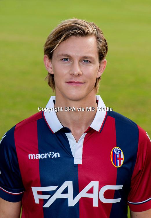 Italian League Serie A -2015-2016 / <br /> ( Bologna Fc 1909 ) -<br /> Emil Krafth