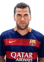 Spain - Liga BBVA 2015-2016 / <br /> ( Fc Barcelona ) - <br /> Daniel Alves da Silva
