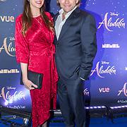 NLD/Hilversum/20190521 - Premiere Aladdin Gala Night,  Ferri Somogyi en partner Noëlle van Stek