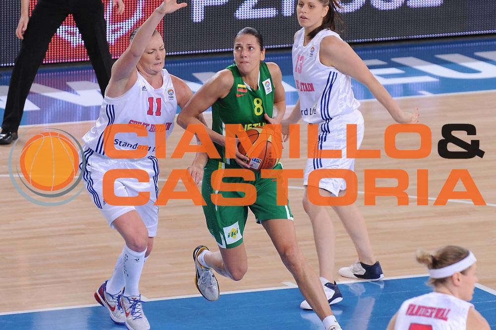 DESCRIZIONE : Bydgoszcz Poland Polonia Eurobasket Women 2011 Round 2 Gran Bretagna Lituania Great Britain Lithuania<br /> GIOCATORE : Agne Abromaite<br /> SQUADRA : Lituania Lithuania<br /> EVENTO : Eurobasket Women 2011 Campionati Europei Donne 2011<br /> GARA : Gran Bretagna Lituania Great Britain Lithuania<br /> DATA : 23/06/2011 <br /> CATEGORIA : <br /> SPORT : Pallacanestro <br /> AUTORE : Agenzia Ciamillo-Castoria/M.Marchi<br /> Galleria : Eurobasket Women 2011<br /> Fotonotizia : Bydgoszcz Poland Polonia Eurobasket Women 2011 Round 2Gran Bretagna Lituania Great Britain Lithuania<br /> Predefinita :