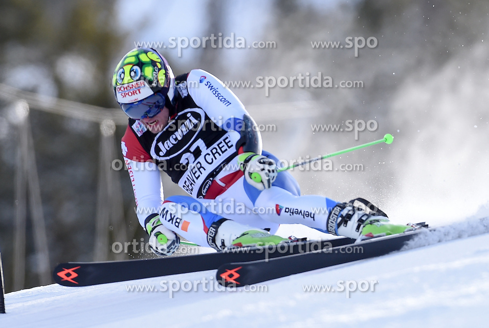 06.12.2015, Birds of Prey Course, Beaver Creek, USA, FIS Weltcup Ski Alpin, Beaver Creek, Riesenslalom, Herren, 1. Lauf, im Bild Justin Murisier (SUI) // Justin Murisier of Switzerland during the first run of mens Giant Slalom of the Beaver Creek FIS Ski Alpine World Cup at the Birds of Prey Course in Beaver Creek, United States on 2015/12/06. EXPA Pictures © 2015, PhotoCredit: EXPA/ Erich Spiess
