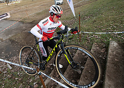 13.01.2019, Wien, AUT, ÖRV, Rad Radcross Staatsmeisterschaft, Herren Elite im Bild Staatsmeister Gregor Raggl (AUT, Möbel Märki MTB Pro Team) // during mens elite cyclo cross championship, Vienna, Austria on 2019/01/03. EXPA Pictures © 2019, PhotoCredit: EXPA/ R. Eisenbauer