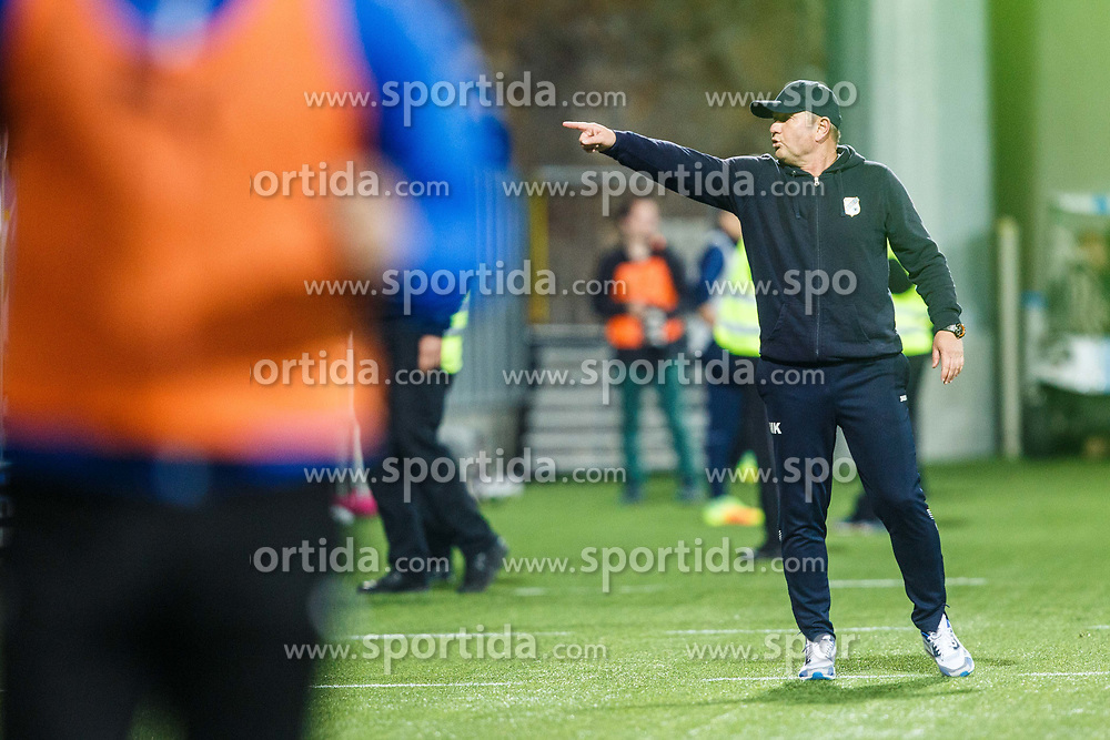 Matjaz Kek head coach of HNK Rijeka during football match between HNK Rijeka and GNK Dinamo Zagreb in Round #27 of 1st HNL League 2016/17, on November 5, 2016 in Rujevica stadium, Rijeka, Croatia. Photo by Grega Valancic / Sportida