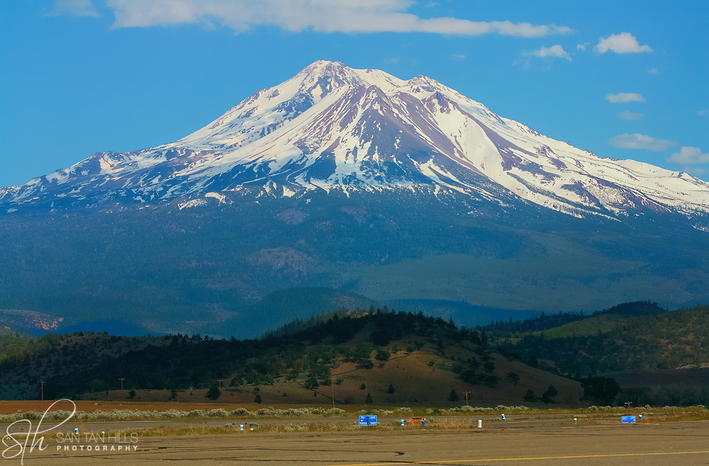 Majestic Mount Shasta in Northern California