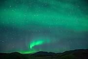 aurora in South Iceland Thingvellir Þingvellir