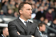 Derby County Manager Darren Wassall during the Sky Bet Championship match between Derby County and Nottingham Forest at the iPro Stadium, Derby, England on 19 March 2016. Photo by Jon Hobley.
