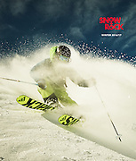 Action and Lifestyle pictures from a photoshoot production for Snow and Rock in the French alps.