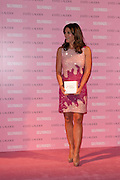 11.OCTOBER.2012. MANCHESTER<br /> <br /> ELIZABETH HURLEY AT SELFRIDGES EXCHANGE SQUARE MANCHESTER TO TURN THE STORE PINK, CELEBRATING 20 YEARS OF ESTEE LAUDER COMPANIES' BREAT CANCER AWARENESS MONTH ON THURSDAY 11TH OF OCTOBER 2012<br /> <br /> BYLINE: EDBIMAGEARCHIVE.CO.UK<br /> <br /> *THIS IMAGE IS STRICTLY FOR UK NEWSPAPERS AND MAGAZINES ONLY*<br /> *FOR WORLD WIDE SALES AND WEB USE PLEASE CONTACT EDBIMAGEARCHIVE - 0208 954 5968*