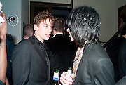 JOHNNY BORRELL; BOBBY GILLESPIE, Art Plus Music Party 2010. Whitechapel art Gallery.  To raise money for the gallery';s education and community programme. 22 April 2010.