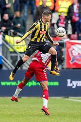 11-03-2018 NED: FC Utrecht - Vitesse, Utrecht<br /> Utrecht verslaat met 5-1 Vitesse / Bryan Linssen #11 of Vitesse